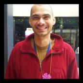 Tony with his pendant