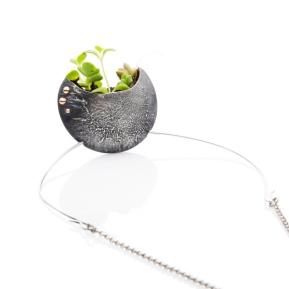 2017 Clare Poppi - Growing Necklace (Oxidised)