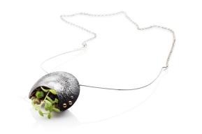 2017 Clare Poppi - Growing Necklace (Oxidised) #2